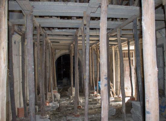 Acolpacha Casona en reconstrucion Arequipa